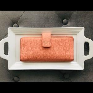 🗝 Fossil wallet; clutch; handheld purse